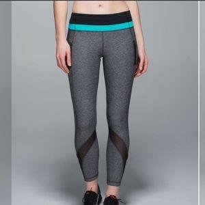 Lululemon Leggings. Inspire Tight II with Mesh